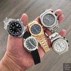 Choices and more choices. @Rolex @audemarspiguet or Patek Philippe. #audemars #watchporn #watches #watchlife #royaloakoffshore #audemarspiguet #ap_gallery #audemarspiguet_official #womw #audemars #dailywatches #lovewatches #watchcollecting #watchcollectinglifestyle #wcl #instadaily #royaloakoffshorerodeodrive #watchesofinstagram #26060st #royaloakoffshore #royaloakoffshorerodeodrive #25721 #patekaholic #patek #5065a #5065 #payekphilippe #15202or #116710blnr #rosegoldaudemars…