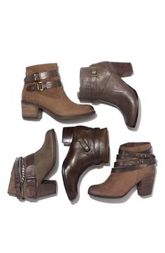 Belted booties are THE look for the fall!