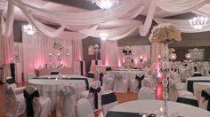 Gorgeous Reception room at The Crystal Ballroom <3  #Wedding #Reception #Ceremony #Table #Decoration #Centerpiece #Event #Venue #Orlando #Florida