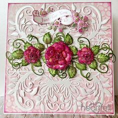 Roses Just For You w/ Heartfelt Love collection from #HeartfeltCreations