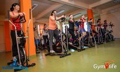 Indoorwalking la Gym Life Club Sala Fitness, Aerobics, Gym Equipment, Basketball Court, Club, Sports, Life, Hs Sports, Workout Equipment