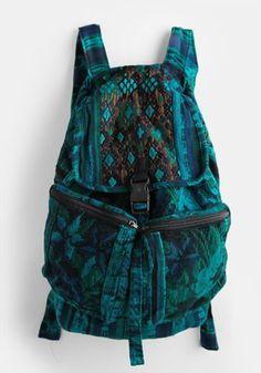 Aztec Print Backpack by Stela 9 #threadsence #fashion