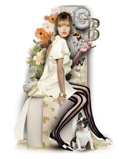 """B like birthday C like Crystal"" by alicja2204 ❤ liked on Polyvore featuring art"