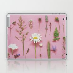 Wild Flowers Laptop & iPad Skin by Cassia Beck - $25.00