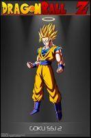 Dragon Ball Z - Goku SSJ 2 by DBCProject