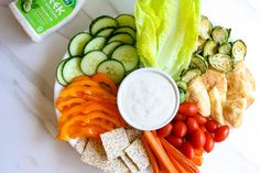 Veggie Plate with Hi