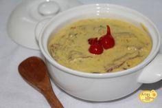 Sopa de carne seca e queijo - Fácil - Artes da Sadhia na cozinha