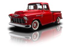AutoTrader Classics - 1955 Chevrolet 3100 Red Manual | Classic Trucks ...