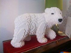 Polarbear #LEGO #bear #polarbear