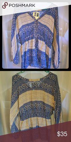 Edme & Esyllte Blouse size 8 edme&Esyllte flowy blouse from Anthropology. size 8. Never worn. edme&esyllte Tops Blouses