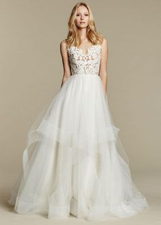 I'm reselling my gorgeous wedding dress! Click the link to purchase at 50% off retail. Blush By Hayley Paige Ivory Halo Gown Dress. Free shipping and guaranteed authenticity on Blush By Hayley Paige Ivory Halo Gown DressBlush by Hayley Paige Spring 2016 Collection Halo....