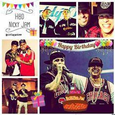 #mulpix Happy Birthday @Nickyjampr 🎉🎉🎉🎉🎉👏🎂🎁🎈 Felicidades al cangri  #NickyJampr que los cumplas feliz ,bendiciones 🙏  #LosCangris @daddyyankee @nickyjampr   #DaddyYankee  #NickyJamPR  #happybirthdaynickyjam