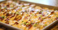 cheesy bacon potato bites party | Inspired Dreamer