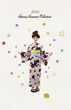 Modern Kimono! Want!! Go to Collection on top menu, you'll enjoy more. How cute they are!!