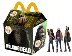 The Walking Dead Happy Meal - Michonne and Walkers Walking Dead Funny, Walking Dead Zombies, Fear The Walking Dead, Kill Bill, Zombie Apocolypse, Zombie Attack, Stuff And Thangs, Dead Man, Horror Movies