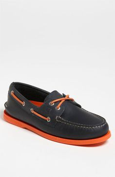 For Him: Add a pop to your favorite Sperry Top-Siders #Nordstrom