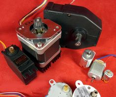 DC Motors-Part 1/3: Continuous, Gear, Servo, Brushless and Coreless, Vibration, and Stepper, A Tutorial