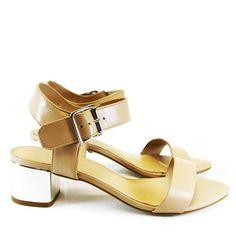 Sandália Nude 2308 Valentina   Moselle sapatos finos femininos! Moselle sua boutique online.