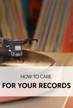 As vinyl records have drifted into obsolescence, fewer and fewer of them are in proper condition. Care for your records, because they are relics of a past rich with musical style and quality. How do you do that? First, keep them clean. Second, store them in the appropriate containers. Those tips merely scratch the surface (pun intended), so see eBay's guide to proper record care, and keep your vinyl in pristine and sparkling condition.