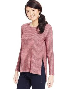 One Clothing Juniors' Side-Slit Rib-Knit Top - Juniors Tops - Macy's maybe other color