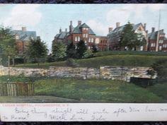 1906 The Vassar Hospital Poughkeepsie, NY New York PC...my son was born here. .CE