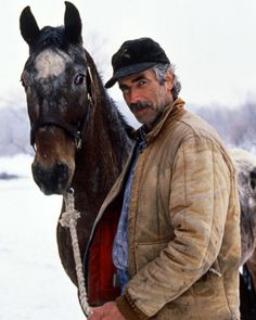 Sam Elliot - I've always been a huge fan... that voice of his!  and to think he lives not too far from me is surreal.