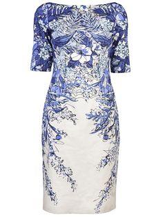 Lela Rose Floral Dress - Gus Mayer Nashville - farfetch.com $1095