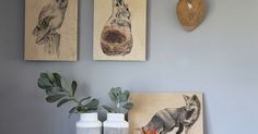 DIY Gift Ideas: Prints on Wood: One of the most exciting print options available at Orms Print Room & Framing, prints on wood!