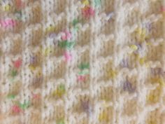 "NEVIS BABY BLANKET   Requirements ~ DK (8ply) yarn 4mm needles   Tension ~ 22sts = 4"" (10cm)    ..."