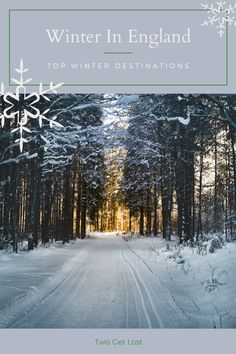 The top winter destinations in England. England has some incredible winter destinations just waiting for you to check them out! Don't miss out this winter. #winter #christmas #travel #england #uk Christmas Travel, Winter Christmas, Winter Destinations, Travel Destinations, England Top, Best Countries To Visit, Travel England, Best Places To Travel, Winter Travel