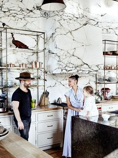 Inside the Old-World Venice Beach Home of Denise Vasi and Anthony Mandler via @MyDomaine