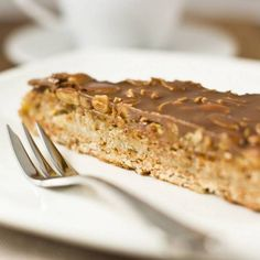 Cold Desserts: the delicious hazelnut cake that does not cook Non Bake Desserts, Italian Desserts, Cold Desserts, Sweet Recipes, Cake Recipes, Dessert Recipes, Hazelnut Cake, Torte Cake, Sweet Cakes