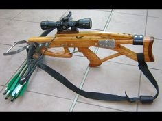 Homemade compact crossbow making Crossbow Parts, Diy Crossbow, Homemade Crossbow, Homemade Weapons, Shooting Bench Plans, Airsoft Mask, Unique Gadgets, Shooting Targets, Combat Knives