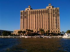 Escape to the newly renovated Westin Savannah Harbor Golf Resort & Spa, the only resort hotel in downtown Savannah, Georgia. Downtown Savannah, Savannah Chat, Kid Friendly Vacations, Tybee Island, Resort Spa, Hotels And Resorts, Fireworks, Places Ive Been, Conference