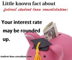 Consolidation isn't always the best answer to every student loan challenge. Learn more from a student loan expert at www.student-loan-consultant.com Student Loan Repayment, Student Loan Debt, Borrow Money, Personal Finance, The Borrowers, Investing, Challenges, Advice, Learning