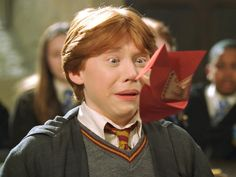 Ron Weasley- Listening to a howler
