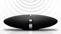 Bowers & Wilkins Zeppelin Air iPod dock & wireless speaker system with AirPlay wireless music streaming Zeppelin, Wireless Speaker System, Ipod Dock, Bang And Olufsen, Top Cars, Tecno, Air, Black Silver, Entertaining