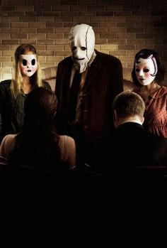 Dollface, The Man in the Mask, & Pin-Up Girl [a.k.a. The Strangers] (from The Strangers, 2008). Portrayed by Gemma Ward, Kip Weeks, & Laura Margolis