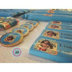 Golosinas Personalizadas Candy Bar Moana Único Z Norte $ 1390.0