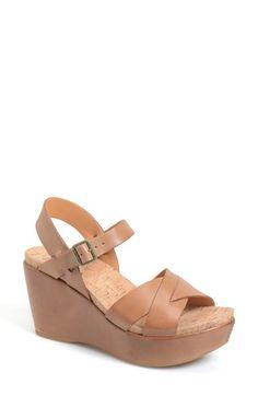 Kork-Ease® 'Ava 2.0' Platform Wedge Sandal (Women) available at #Nordstrom