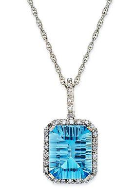10k White Gold Neckl beauty bling jewelry fashion