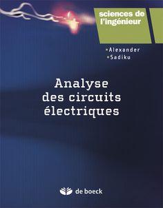 L'objectif de cet ouvrage est de présenter l'analyse des circuits électriques de manière claire, intéressante et facile à comprendre, et d'accompagner l'étudiant tout au long de ses études en électricité et en électronique, jusqu'au master. Structuré en trois parties - circuits à courant continu, circuits à courant alternatif et analyse approfondie des circuits - ce volume rassemble l'essentiel des connaissances sur les éléments fondamentaux et avancés de l'analyse... Cote: TK 454 A54 2012