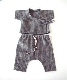suvi ainoa baby linen kimono sets