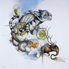 Art et Cancrelats: Greg Craola Simkins