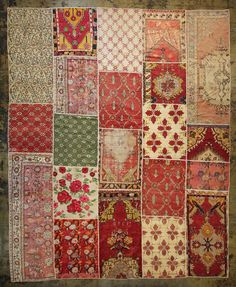 Rug or make a beautiful quilt like this