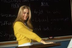 Cher's cardigans from Clueless #Clueless