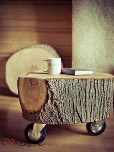 mesas de tronco 1