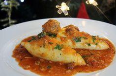 Ideas para estas fiestas: Calamares rellenos | Cocinar en casa es facilisimo.com