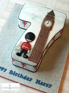 Tarta cumpleaños Londres