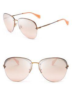 794b602603 Miu Miu Women s Aviator Sunglasses Jewelry   Accessories - Bloomingdale s